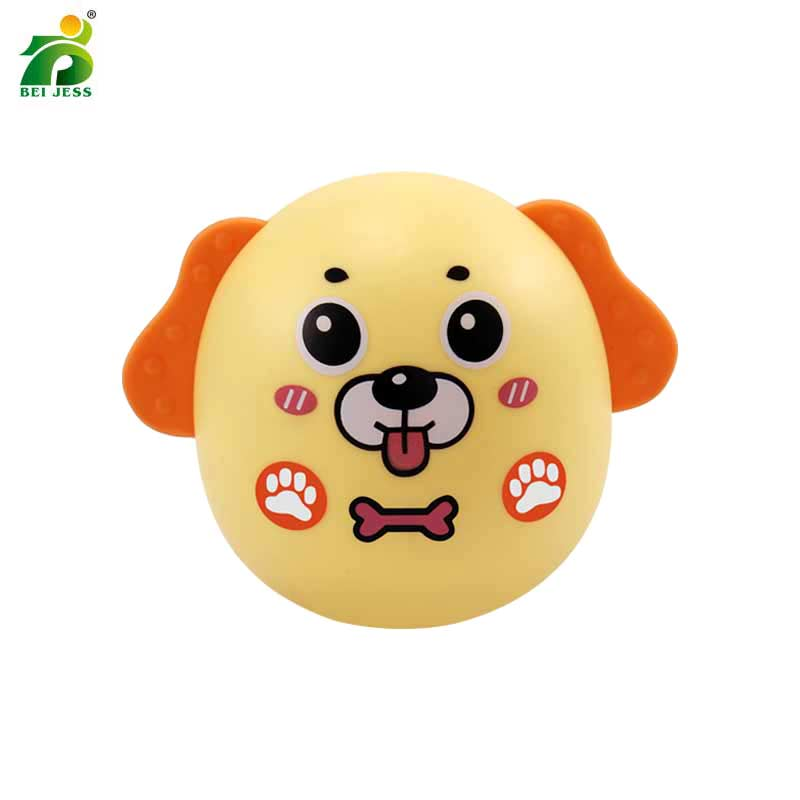 Baby & Toddler Toys Yuanleba Baby Toys For Kids Early Educational Kawaii Soft Chick Rubber Playing Teether Baby Rattles