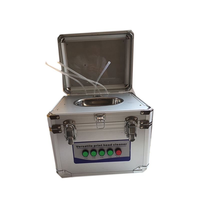 Nettoyeur à ultrasons pour tête d'impression konica Spt xaar dx4 dx5 machine de nettoyage à ultrasons pour tête d'impression