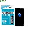 Pzoz para iphone 7 vidrio templado film protector de pantalla transparente cubierta para iphone 7 plus 4.7 y 5.5