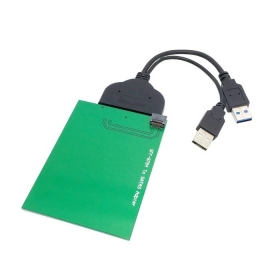 USB 3.0 to SATA 22pin 2.5 Hard Disk to WD5000MPCK SFF-8784 SATA Express SSD Adapter ,Free shipping By Fedex