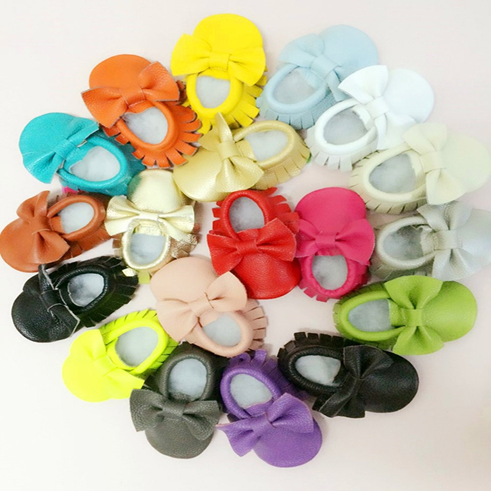 Baby-Moccasins-Leather-With-Bow-Newborn-Baby-Firstwalker-Anti-Slip-Genuine-Cow-Leather-Infant-Shoes-Bow-PU-Leather-T0072 (5)