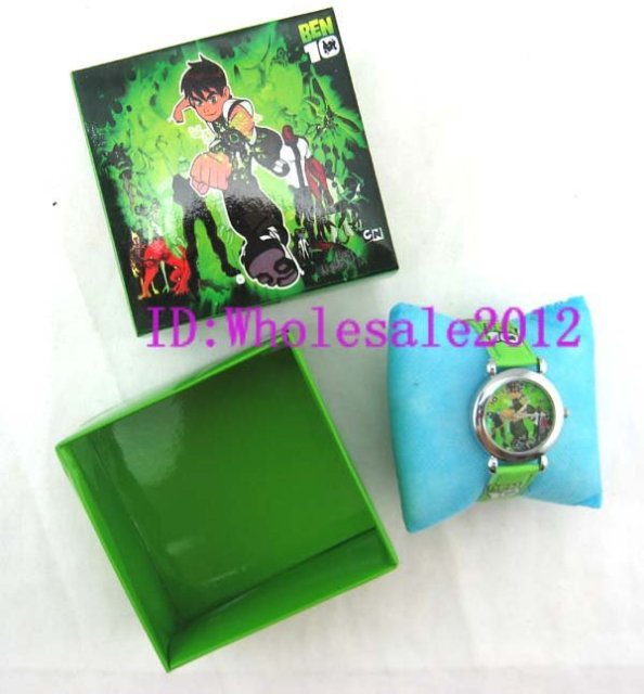 Free Shipping 20pcs ben 10  watch W boxes Wristwatches new