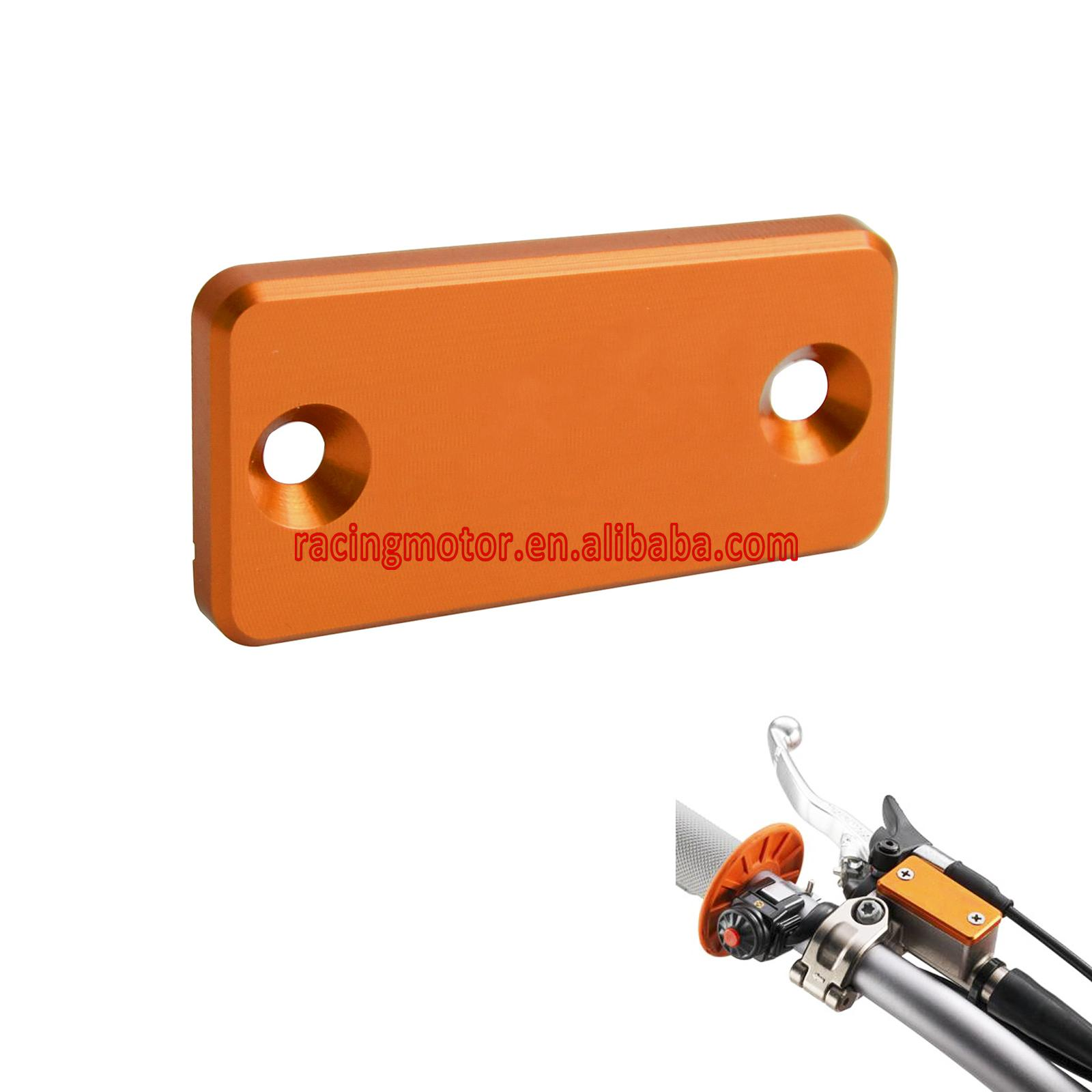 CNC Clutch Master Cylinder Reservoir Cover For KTM 690 SMC SMR Duke Enduro R 1050 1190 Adventure 1290 Super Adventure mtkracing cnc aluminum brake clutch levers set short adjustable lever for ktm adventure 1050 690 duke smc smcr 690 enduro r
