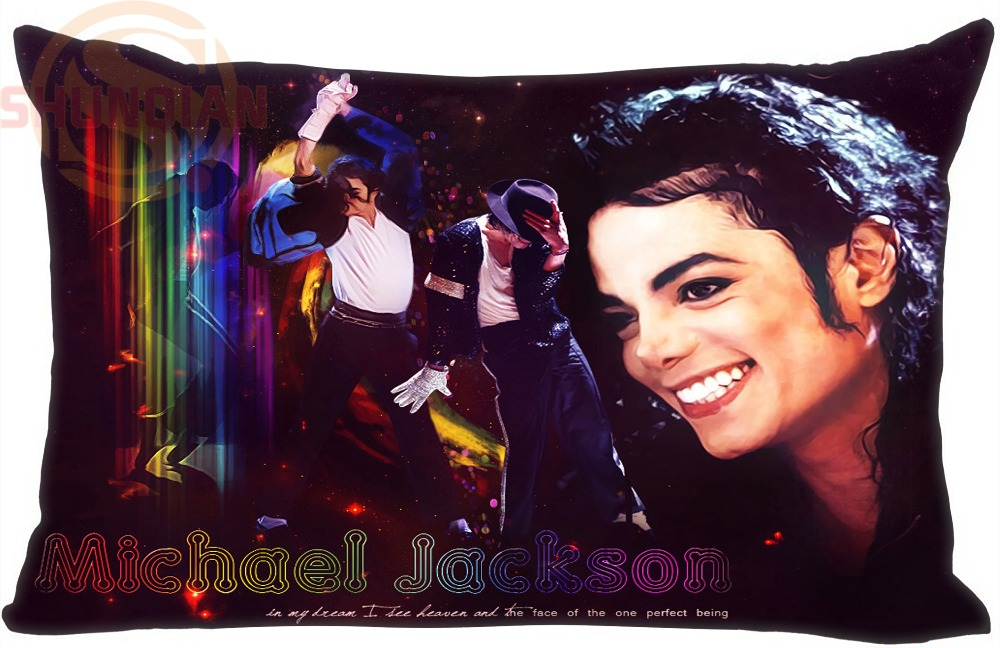 Hot Michael Jackson heal the world Pillow cases 35X45cm (one side) Pillow Cover Best Bed Sheets