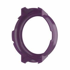 Image 5 - Novo 10 cores capa protetora caso protetor quadro escudo acessórios durável fino para amazfit verge relógio inteligente