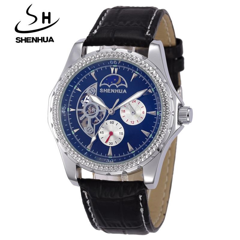 Etiqueta de la marca SHENHUA Reloj Hombre Reloj a prueba de agua - Relojes para hombres