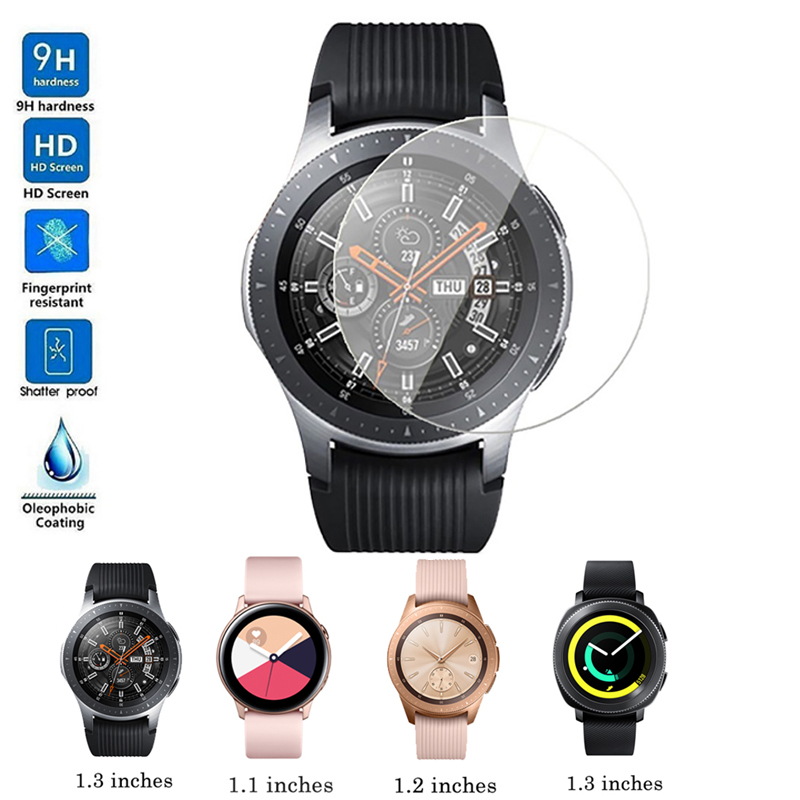 9H Anti-scratch Tempered Glass For Samsung Galaxy Watch 46mm 42mm Screen Protector Protective Glass Films