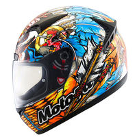 Vcoros King of law full face Motorcycle helmet moto racing helmets Personality chief shark decal DOT approved M L XL XXL