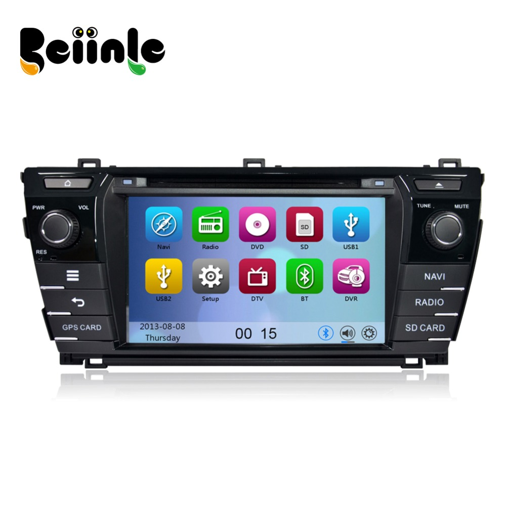Beiinle 2 Din 8 U0026 39  U0026 39  Car Head Unit Radio Stereo Dvd Gps