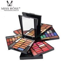MISS ROSE Professional Eye Shadow Palette Shimmer Matte Eyeshadow Kit Makeup Palette Women Beauty Cosmetic Set Makeup Artist недорого