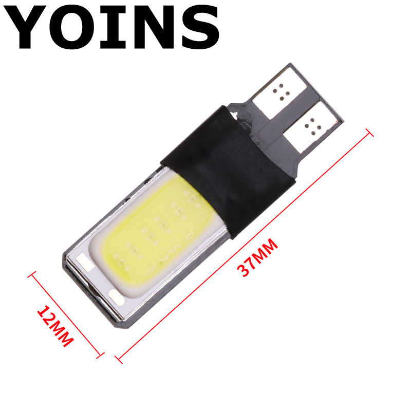 high power t10 w5w led cob car led t10 5w5 12v t 10 bule white car  light fog Lamp interior light w5w t10 canbus error free