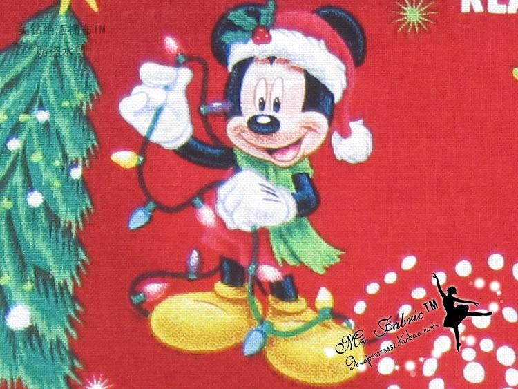 110 * 50cm1pc Weihnachten Stoff 100% Baumwolle Stoff Weihnachten - Kunst, Handwerk und Nähen - Foto 3