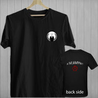 A FOR ANONYMOUS Hacktivist Guy Fawkes Movie Black T Shirt Shirts Tee S 3XL 2017 New
