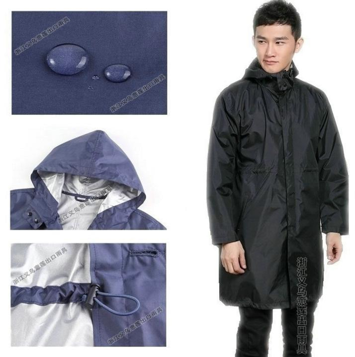 man long outdoor windbreaker adult Siamese travel custom coating poncho poncho
