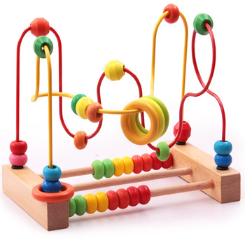 Children, babies, puzzles, big beaded beads, building blocks, toys, 18 months baby 1-2-3-6 years old toys for 2 month old