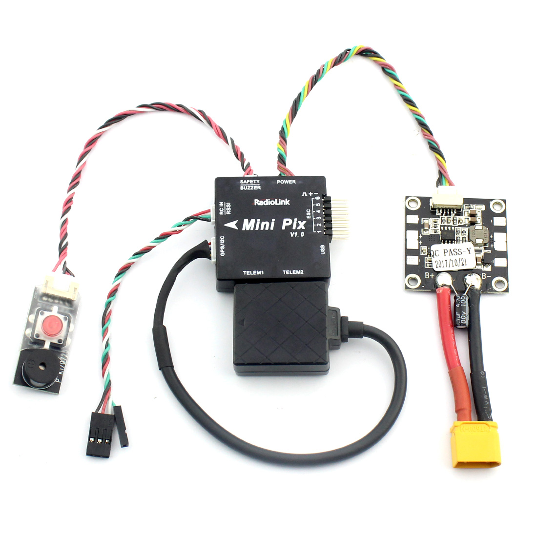 Image 2 - Radiolink Mini PIX M8N GPS Flight Control Vibration Damping by Software Atitude Hold for RC Racer Drone Multicopter Quadcopter-in Parts & Accessories from Toys & Hobbies