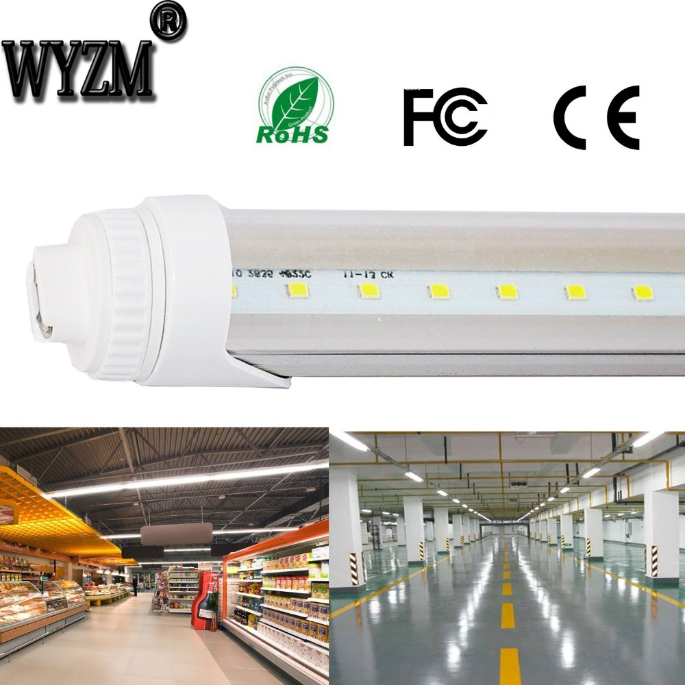 4 Pack R17D 6 Feet 30w LED Tube Light Fluorescent Replacement for F72T12/CW/HO beibehang shop for living room bedroom mediterranean wallpaper stripes wallpaper minimalist vertical stripes flocked wallpaper