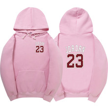 2017 Autumn New Mens Women Pink JORDAN 23 Hoodies Fashion Printing Cotton 100% 1:1 Casual Sweatshirts Men/Women Hoody