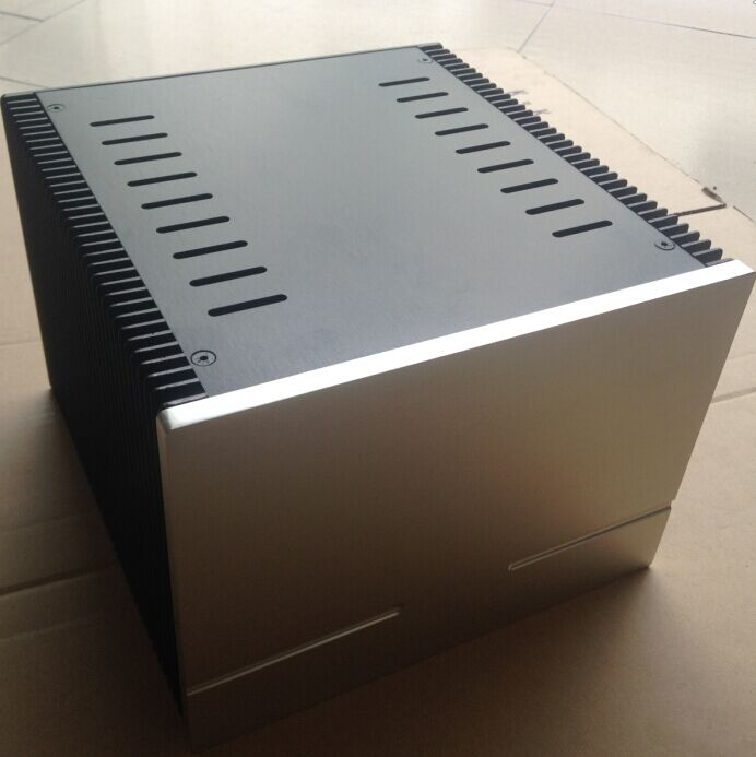 D-050 QUEENWAY 2418 CNC all aluminum heat dissipation 1969 class a power amplifier Chassis 245mm*180mm*259mm 245*180*259mm 2017 aluminum power amplifier chassis home audio amplifier case size 245 180 259mm
