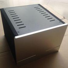 QUEENWAY 2418 CNC de aluminio de disipación de calor 1969 clase a amplificador de potencia Chasis 245mm * 180mm * 259mm 245*180*259mm