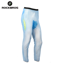 ROCKBROS Cycling Bike Bicycle Windproof Long Pants Rainproof Polyester Equipment MTB Clothing Tights