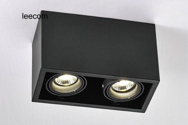 2018 Led Spotlight Free Shipping 2pcs lot Cob Surface Mounted Down Lights High Grade Advantage Products