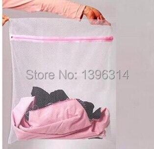 BAG MAIL!20pcs 50*40cm Laundry bag high quality fine mesh laundry bag the flexo wash clothing protection bags7085
