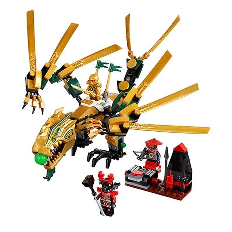Ninjago 9450 Epic Dragon Battle 959 pcs Building Blocks Model Jay Free Shipping
