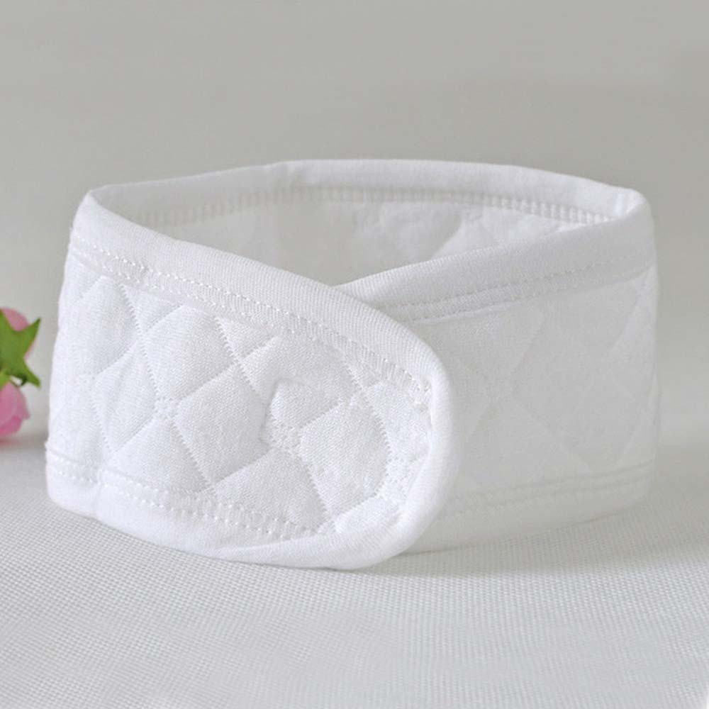 3Pcs Baby Infant Newborn Cotton White Belly Umbilical Cord Care Warm Protector