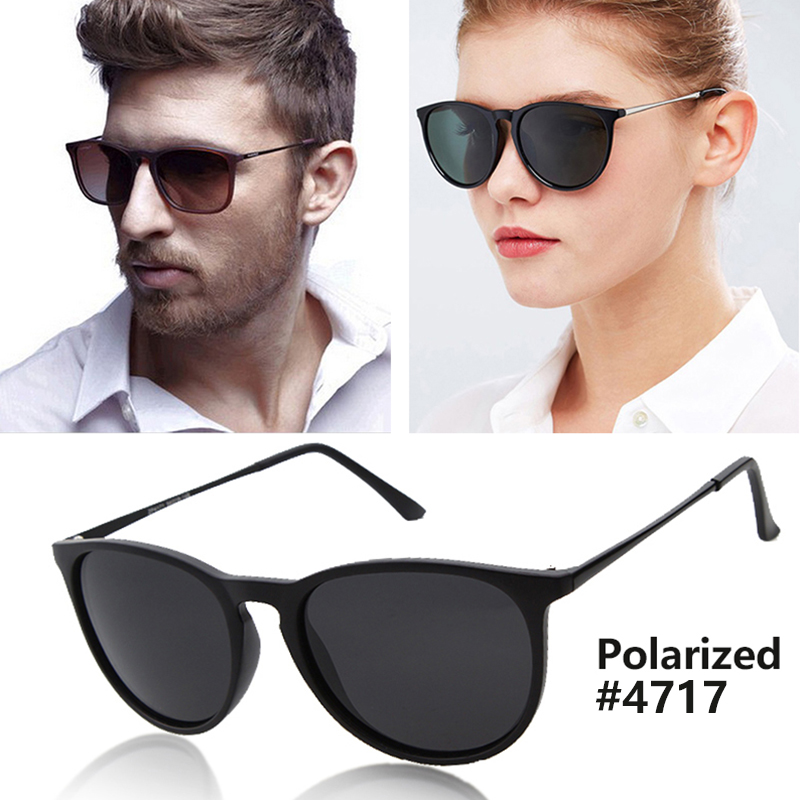 f95822a210ff Fashion Vintage Cat Eye Polarized Sunglasses Men Women Brand Designer Erika Sun  Glasses Mirror Lens 55mm UV400 Oculos R B4171-in Sunglasses from Women's ...