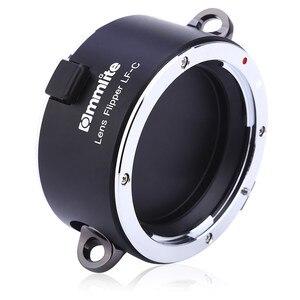 Image 3 - Commlite раскладной двойной держатель для объектива инструмент для быстрой смены с ремешком для Canon Nikon Sony E Mount