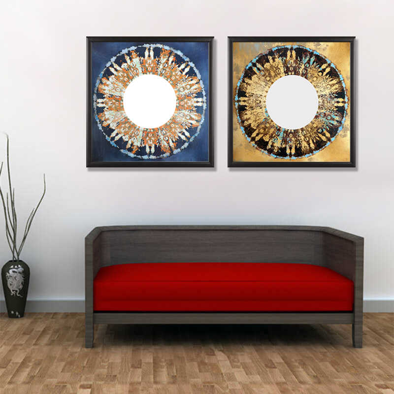 2 Pieces/set Still life poster series Wall Art For Wall Decor Home Decoration Picture Paint on Canvas Prints Painting