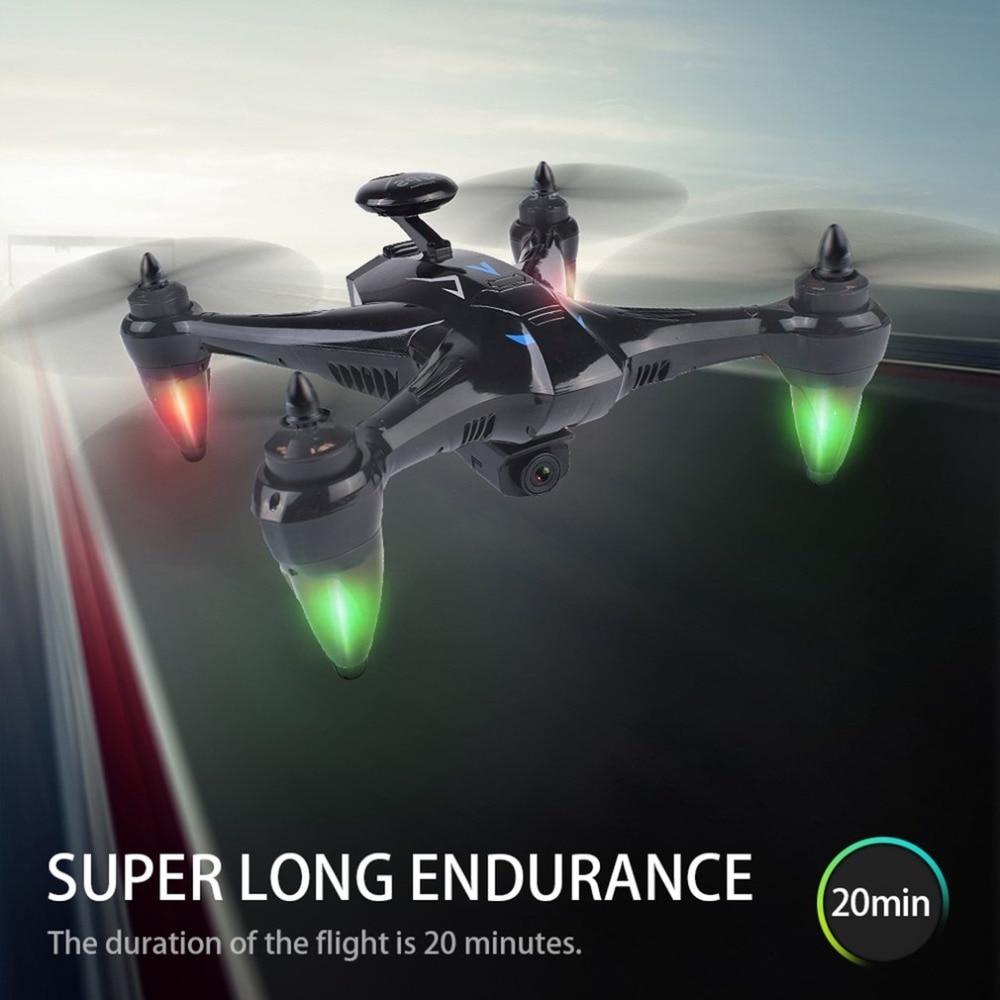 Drone professionnel Ray X198 GPS Drone avion à quatre axes avec hauteur fixe 720 P 1080 P WiFi caméra Quadrocopter Drone RC