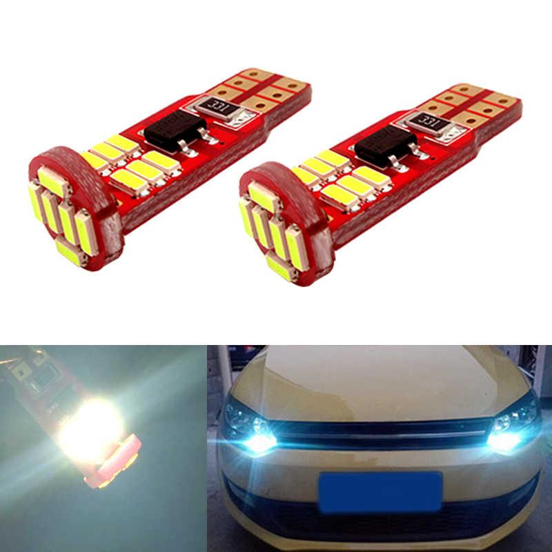2x Canbus T10 W5W 168 194 светодиодный просвет Автомобильные стояночные огни для Volkswagen VW Polo Passat b5 b6 CC Golf 4 5 6 7 Jetta mk6 Passat tiguan