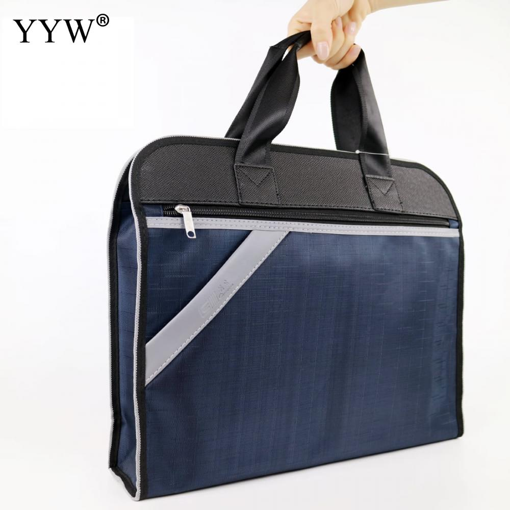Large Capacity Men's Executive Briefcase Business Male Bag Laptop Bags For Men Waterproof Oxford Handbag A Case For Documents