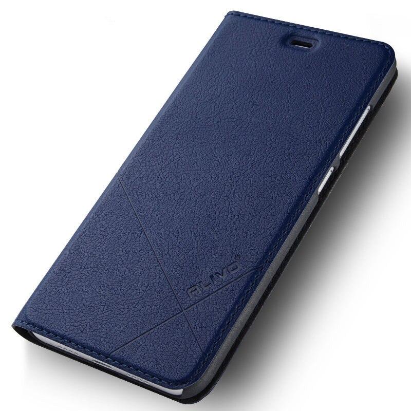 For xiaomi redmi note 7 7A 6 5 6a Pro Plus Mi A2 Lite Automatic closure Case Flip Leather cover+Hard PC Material Back phone case