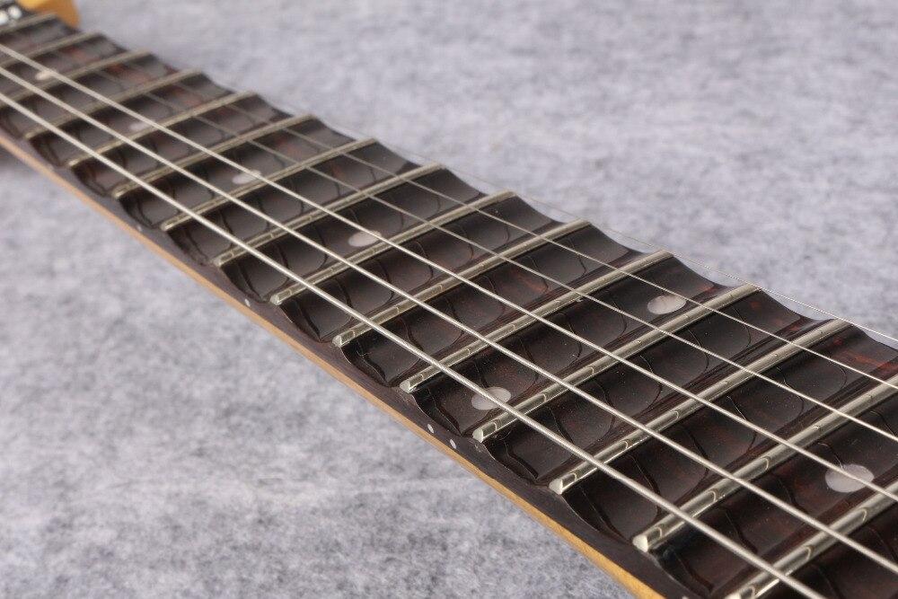 Touche festonnée ST double tremolo palissandre, guitare Yngwie Malmsteen guitare électrique grande tête