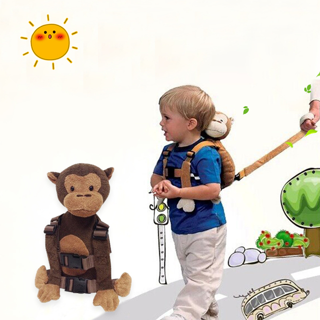 Baby Kid Keeper Safety Harness Toddler Walking Safety Harness Anti
