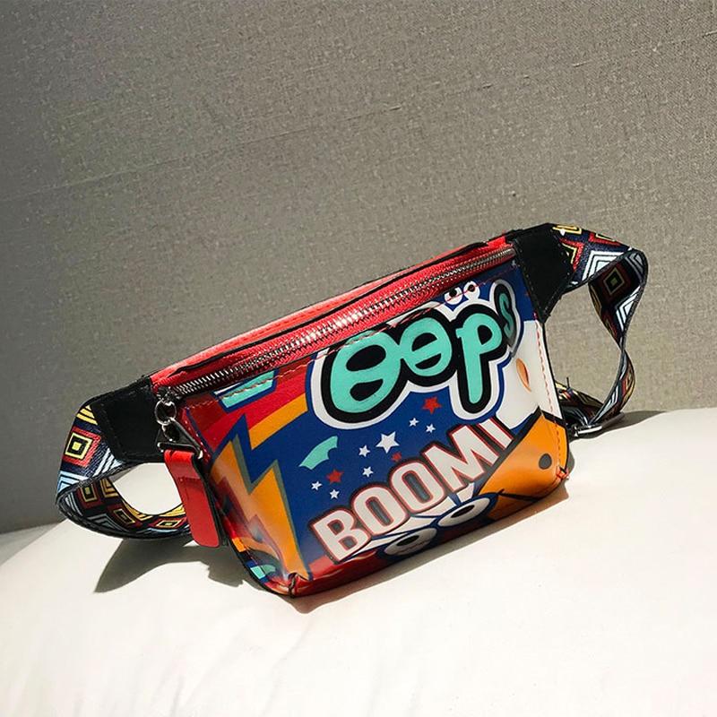 New Waist Bag Female Belt New Brand Fashion Waterproof Chest Handbag Unisex Fanny Pack Ladies Waist Pack Belly Bags Purse