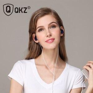 Image 3 - Qkz ck5 이어폰 스포츠 이어 버드 스테레오 모바일 핸드폰 용 헤드셋 dj hd 마이크 장착 fone de ouvido auriculares audifonos