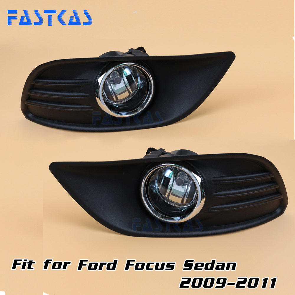 hight resolution of 12v 55w car fog light assembly for ford focus sedan 2009 2010 2011 front fog light lamp with harness relay fog light in car light assembly from automobiles