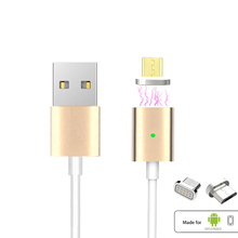 Universal Android Magnetic Micro USB Charging Cable Adapter Fast Charge Wire For SAMSUNG LG XIAOMI LENOVO HUAWEI Moto SONY Meizu