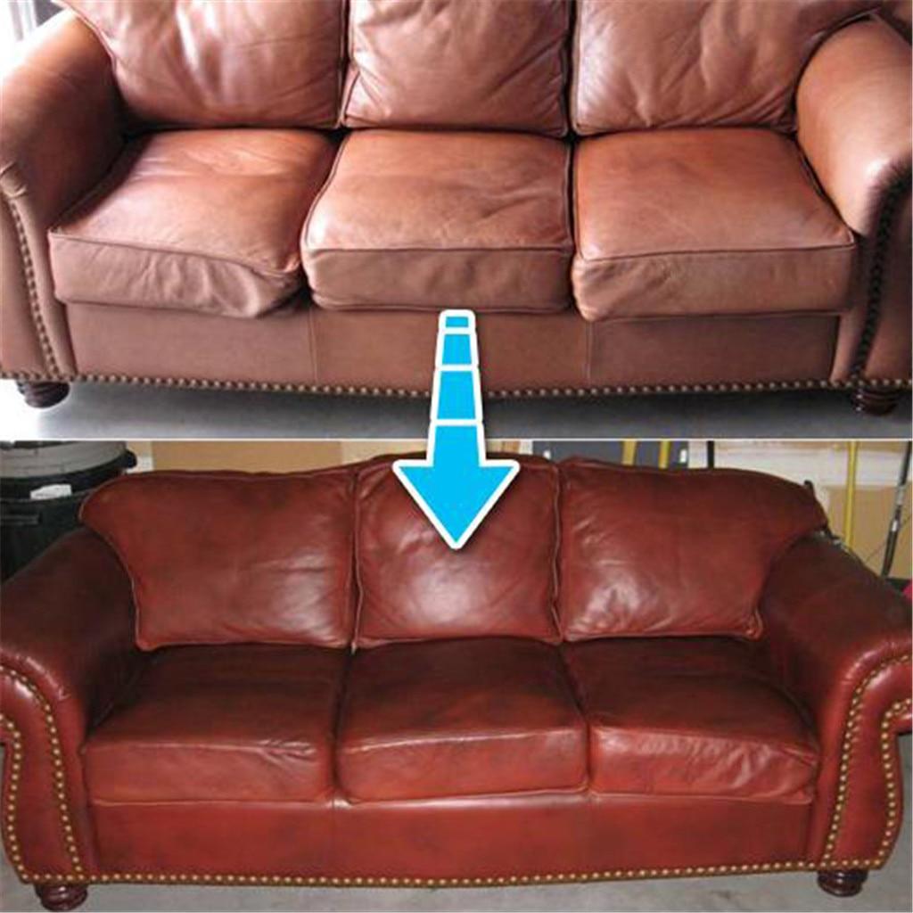 Leather Repair Cream//Filler Compound For Leather Restoration,Cracks,Burns/&Hole