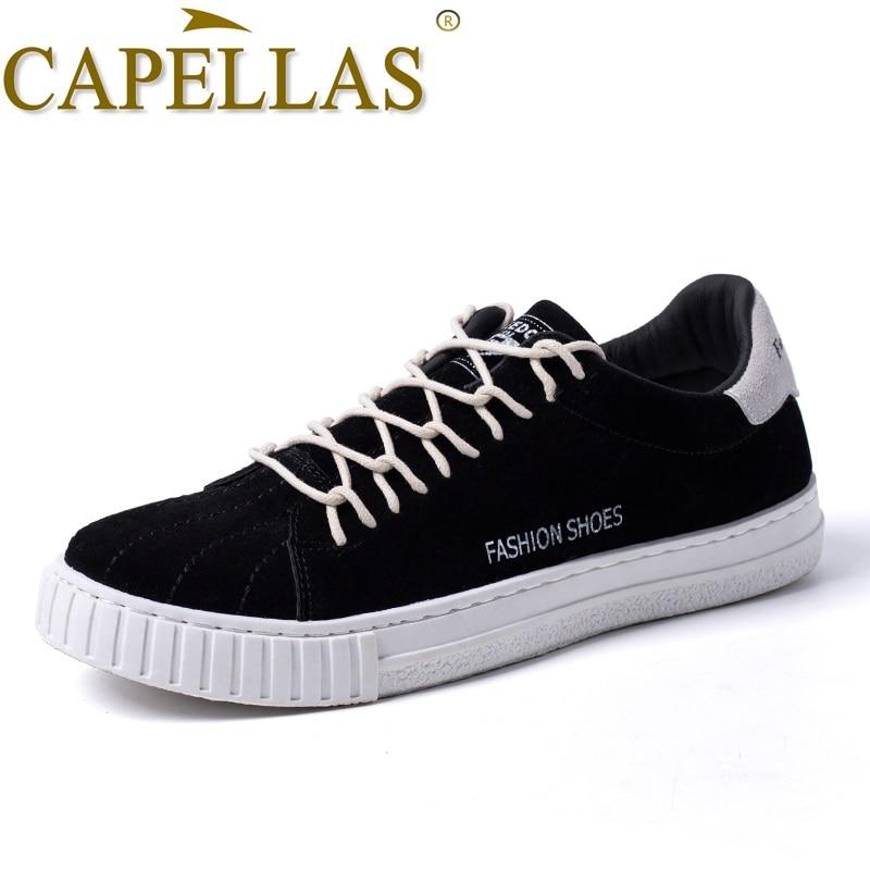 CAPELLAS nye mænds sko forår efterår mænds sko høj kvalitet - Mænds sko