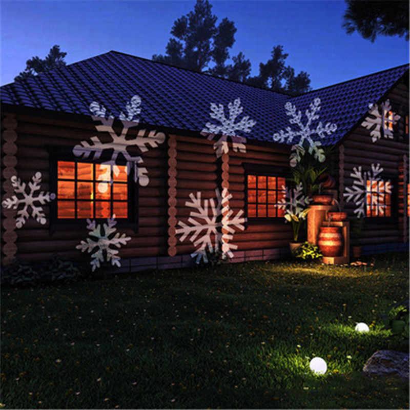 Открытый движущийся лазер лампы проектора 16 моделей Хэллоуин Рождество праздник сад пейзаж проекционный светильник