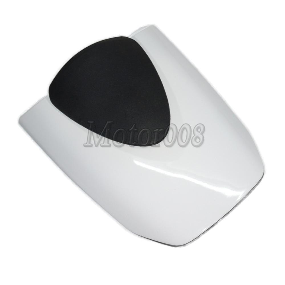 for Honda CBR 600RR F5 2007 2008 2009 2010 2011 2012 White Rear Solo Seat Cover Cowl Passenger Pillion