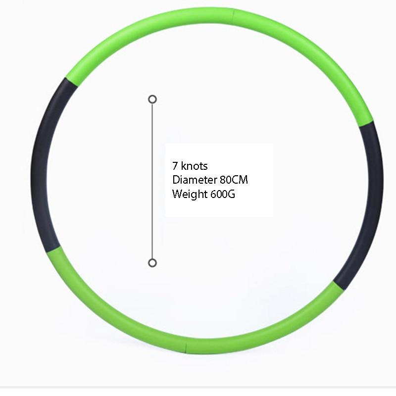 ✔  Съемный Потеря веса Hard Tube Круг Тренажерное оборудование Талия Для Похудения Фитнес Брюшной Масса ①