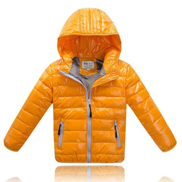 New Clothes Baby Cotton Warning Winter Jacket Boy  The Child Long Sleeve Hooded Jacket Boy 4 - 8 Years Old Children's Clothing