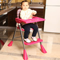 High Quality Folding Baby Highchair Adjustable Baby Dining Chair Large Plate Baby Feeding Chair Multifunctional Baby Chair C01