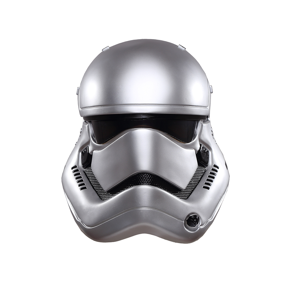 Star Wars la Force réveille Stormtrooper casque masque Star Wars casque PVC blanc soldat Cosplay casque Halloween fête masque